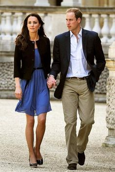 day after the wedding...love the black jacket with blue dress and espadrilles