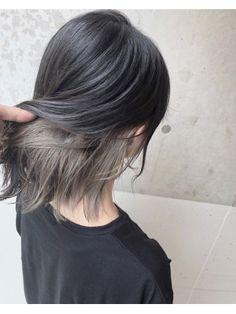 Under Hair Dye, Under Hair Color, Hidden Hair Color, Hair Color Streaks, Hair Color Purple, Color Block Hair, Layered Haircuts For Medium Hair, Hair Color Underneath, Lisa Hair