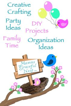 Mommy blog about kids crafts, DIY projects, makeovers, tutorials, recipes, and more.