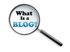 A blog is sometimes referred to as an online personal journal.  It is a site designated for an individual to write about his/her daily experiences, to illicit thoughts and often allowing readers to offer their comments.