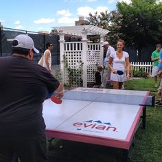 Paint our current ping pong table using our brand standards. Experiential Marketing, Event Branding, Interactive Installation, Promotional Events, Event Marketing, Creative Advertising, Event Calendar, Ping Pong Table, Corporate Events