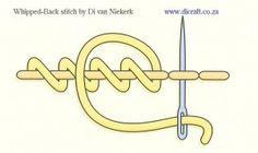 whipped back stitch