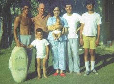 Bruce Lee and family