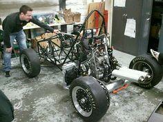 The WPI Formula SAE Car rolls!
