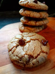 Nutella and Caramel Stuffed Chocolate Chip Espresso Cookies: The Briarwood Baker.