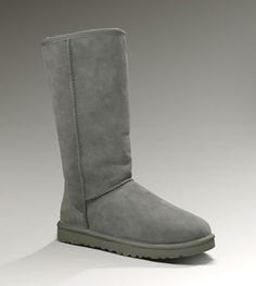 UGG Classic Tall 5815 Grey.. I am not an UGG person but I do like these!