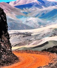 Camino a Laguna Brava, La Rioja. Argentina I would like to visit because it reminds me of the hike project we did last nine weeks. Argentina South America, South America Travel, Places To Travel, Places To See, Equador, Nature Beach, Argentina Travel, Gaucho, Mendoza