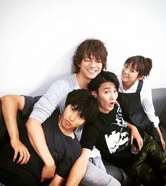 """Kento Yamazaki x Shohei Miura x Shuhei Nomura x Mirei Kiritani, J drama """"Sukina hito ga iru koto (A girl & 3 sweethearts)"""", Aug/07/2016"""
