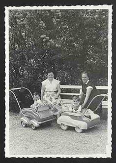 Kinderwagen 50er