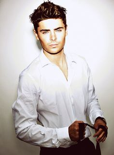 Zac Efron- after seeing the lucky one, I have a new obsession. He is that obsession