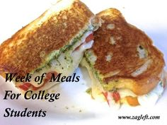 Week Of Meals For College Students - Easy Roasted Chicken & Baked Macaroni & Cheese Week