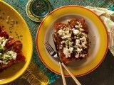 Cooking Channel serves up this Enchiladas Colorado recipe from Kelsey Nixon plus many other recipes at CookingChannelTV.com