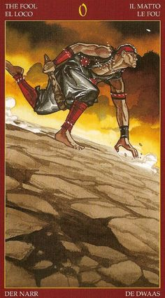 The Fool - Afro-Brazilian Tarot