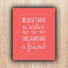 Read these top inspiring and frases hermanas sister quotes Cute Quotes, Great Quotes, Quotes To Live By, Inspirational Quotes, Sister Quotes, Family Quotes, Bff Quotes, Love My Sister, My Love