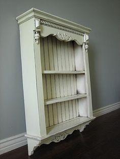 Distressed White Cabinet, Bathroom Cabinet, Kitchen Cabinet ...