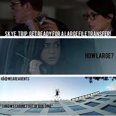 Agents of SHIELD | LOVED this part -- so hilarious!!
