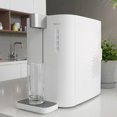 Die yource pro Wasserbars von BRITA gibt es in drei Variationen. Sie filtern Leitungswasser mithilfe der BRITA Technologie und können sowohl gekühl...