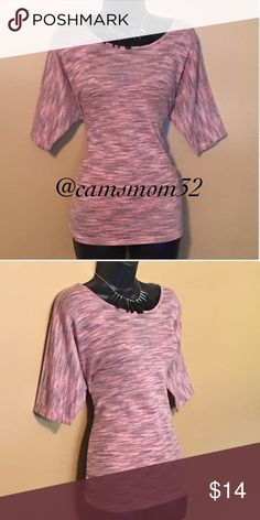 New Cato top Grey $ pink top, new condition, size large. Bundle and save more. Cato Tops Tees - Short Sleeve
