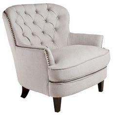 Aurora Tufted Arm Chair