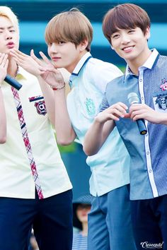 Jin, V e Jungkook - BTS