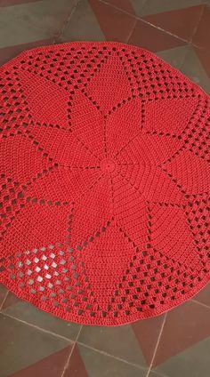 Crochet Round Cream White Doily Centerpiece Crochet Home Decor Crochet Table Decor made in Lithuania Crochet Doily Rug, Crochet Carpet, Crochet Doily Patterns, Crochet Round, Crochet Squares, Thread Crochet, Filet Crochet, Crochet Designs, Crochet Stitches