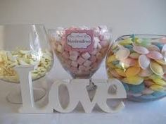sweet table centre peices - Google Search
