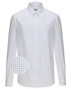 Lækre NN.07 New Derek langærmet skjorte NN.07 Skjorter til Herrer til enhver anledning