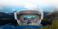 "Highlights: - Integrated 5"", 720p LCD Display - Proprietary Wireless & HDMI - Connectivity Works with Typhoon H and Tornado H920 - Adjustable Headband The Typhoon SkyView L from Yuneec is an enclosed"