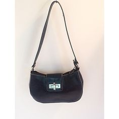 """Apt. 9 Navy Blue Crossbody Bag Small crossbody bag with silver tone hardware. In like new condition. Measures 5.5""""Hx9""""Wx3""""D. Apt. 9 Bags Mini Bags"""
