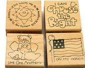 Rubber Stamping Set - LDS Crafts - Choose The Right - Devotional Stamps - Unique Rubber Stamps - Paper and Ink Stamps - Kids Activitieshttps://www.etsy.com/listing/492620744/rubber-stamping-set-lds-crafts-choose