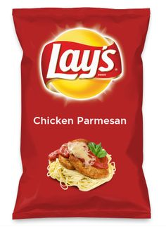 Wouldn't Chicken Parmesan be yummy as a chip? Lay's Do Us A Flavor is back, and the search is on for the yummiest flavor idea. Create a flavor, choose a chip and you could win $1 million! https://www.dousaflavor.com See Rules.