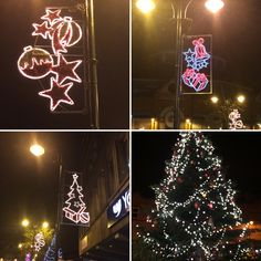 Christmas tree and lights in Oldham Town Centre 2015 #OurChristmas #Christmas2015 #Festive
