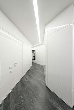 55 trendy apartment decorating black and white lamps Futuristic Interior, Futuristic Design, Studio Apartment Decorating, Apartment Interior Design, Home Design, Design Ideas, Black Interior Design, Cool Apartments, College Apartments