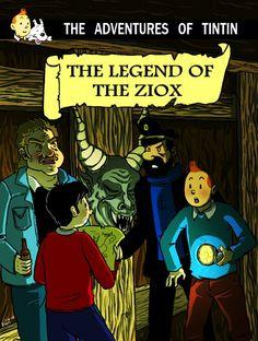 Les Aventures de Tintin - Album Imaginaire - The Legend of the Ziox