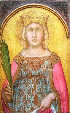 Pietro Lorenzetti, Saint Catherine of Alexandria, Italian, c. 1342 - 1344