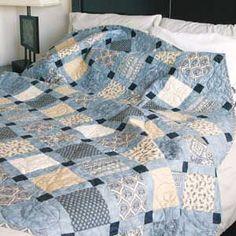 Sandstone: Lap Size Charm Pack Quilt Pattern