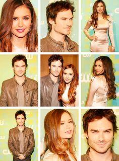 Nina x Ian  The CW Network's 2012 Upfront