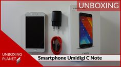 Video mit Unboxing des günstigen Smartphone Umidigi C Note #video #unboxing #smartphone #umidigicnote