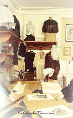 Vetements 1900 - Un Cottage En France