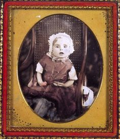 Pennington Edition:  Post Mortem image of an infant - the infant mortality rate was atrocious at this time
