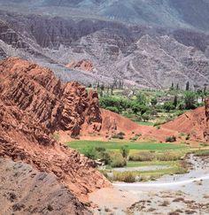 Quebrada de Humauaca. Argentina