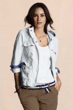 Canvas Women's Cotton Canvas Slicker from Lands' End