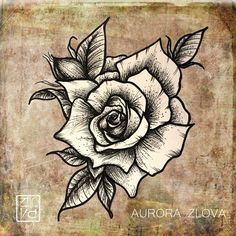 #rose #tattoflash #tattoosketch #flash #sketch #sketching #роза #тату #эскиз #татуировка #злова #авроразлова #татувпитере #тату #татуировка #татуировки #спб #тату_спб #redraven_tattooshop | Flickr - Photo Sharing!
