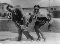 """""""The Charleston, as demonstrated by Frank Farnum and Pauline Starke."""" 1925"""