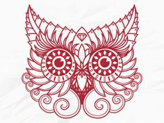 i am loving red owls today