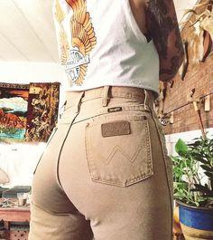 #tan #pants #top