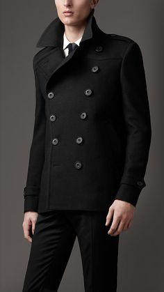 Oversize Wool Pea Coat | Burberry