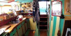 Heather Wilcoxon's houseboat