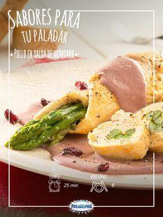 Una receta que te dejará con la boca abierta: Pollo en salsa de arándano