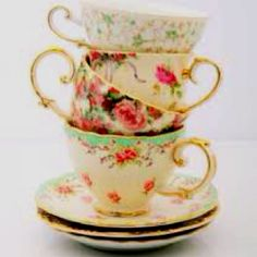 teacups for teeeaa parties. If I can find cups like these I would have hit my mark